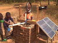 Solar (PV) Powered Rope Pump